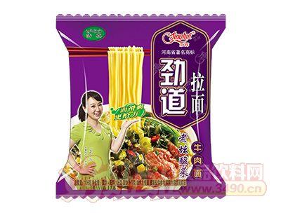 105g京�x�诺览�面老��酸菜牛肉面