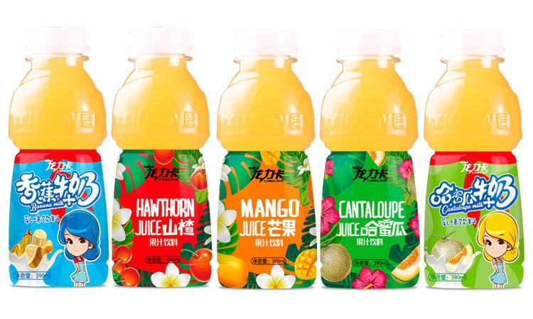 龙力卡果汁饮料390ml×24瓶