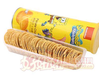 悦味轩蜂蜜芝士味薯片(罐装)
