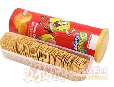 悦味轩原汁番茄味薯片(罐装)