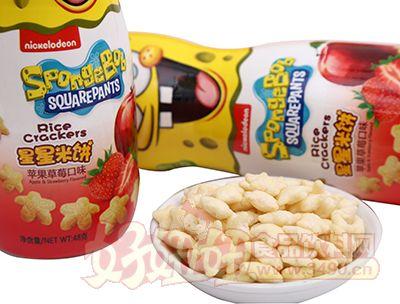 悦味轩苹果草莓味星星米饼