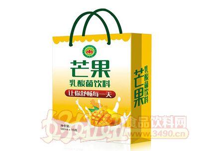 钰之崧芒果乳酸菌饮料560mlx15瓶礼盒