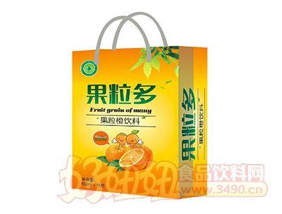 钰之崧果粒橙560mlx15瓶