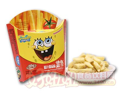 悦味轩原汁番茄味薯条25克