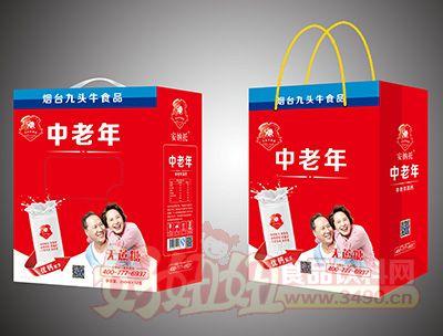 九头牛中老年无蔗糖饮品250mlx12盒礼盒装