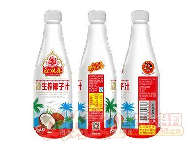 红双喜泰式生榨椰子汁1.25L