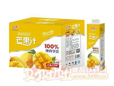 谷源芒果汁饮料1lx8瓶