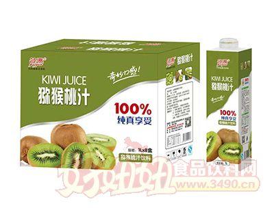 谷源猕猴桃汁饮料1lx8瓶