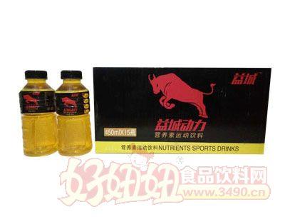 益城动力营养素运动饮料450mlx15瓶