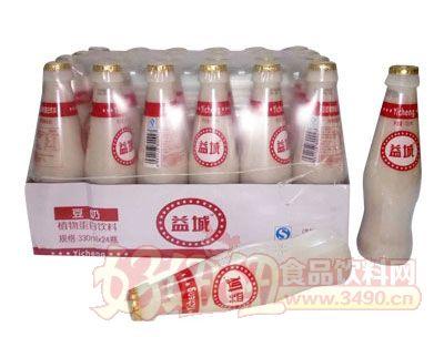 益城豆奶330mlx24瓶