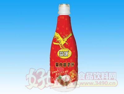益城果肉椰子汁红色1.25L