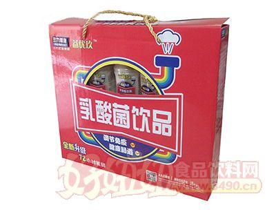 10支x350ml益优玖乳酸菌饮品(开窗)礼盒
