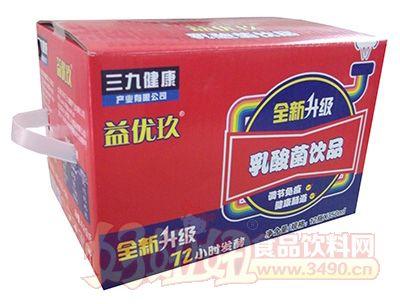 350mlX12三九益优玖乳酸菌饮品