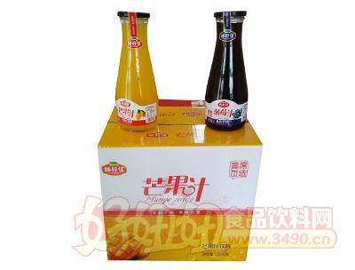 椰好佳蓝莓汁芒果汁1l箱装