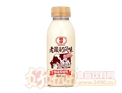旺仔老酸奶风味发酵乳338ml