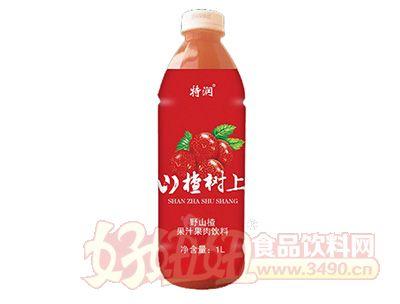 山楂树上果汁果肉饮料1Lx6瓶