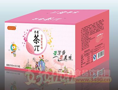 果香茶π菠萝茉莉茶500mlx15瓶