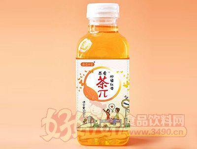 果香茶π柠檬红茶500ml