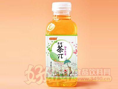 果香茶π柚子绿茶500ml