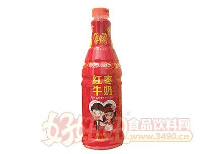 喜牵喜红枣牛奶1.5l