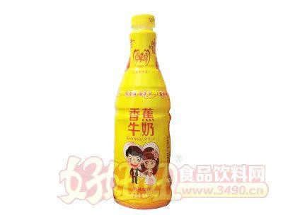 喜牵喜香蕉牛奶1.5l