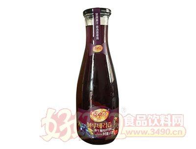 喜牵喜野生蓝莓汁1.5l