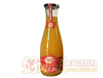 喜牵喜野生芒果汁1.5l