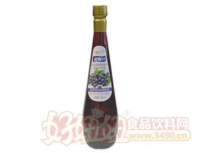 首一蓝莓汁