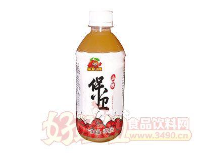 保卫山楂果肉果汁饮料850ml