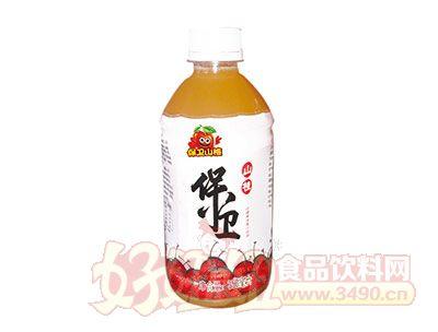 保卫山楂果肉果汁饮料350ml