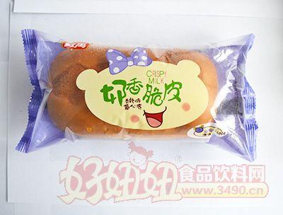 柯禹草莓味奶香脆皮面包100克