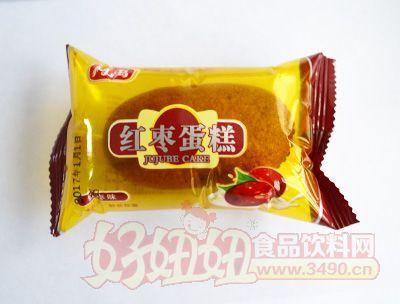 柯禹红枣蛋糕红枣味