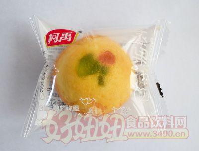柯禹蒸果粒蛋糕