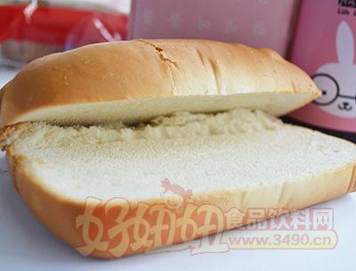 柯禹草莓味奶香脆皮面包100克展示