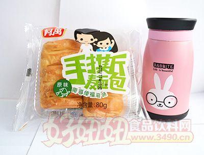 柯禹原味手撕麦面包80克