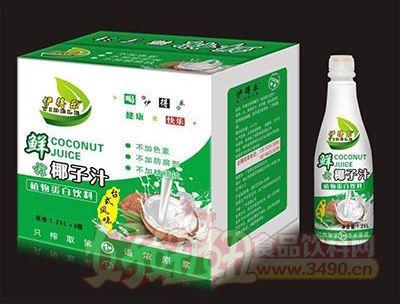 1.25Lx6瓶伊得乐生榨椰子汁