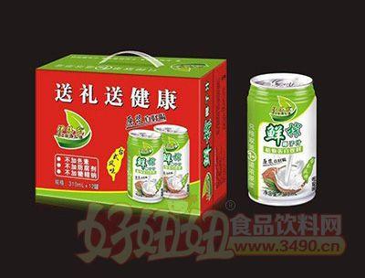 310mlx12罐伊得乐鲜榨椰子汁