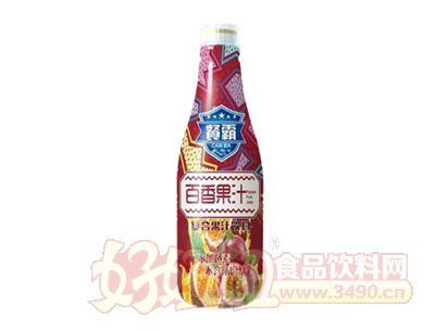 1.25L餐霸百香果汁复合果汁饮料