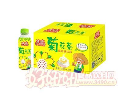 怡佳冰恋菊花茶菊花味饮料500mlx15