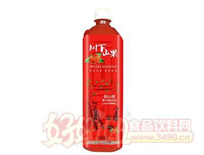树下山果野山楂果肉果汁饮品1l