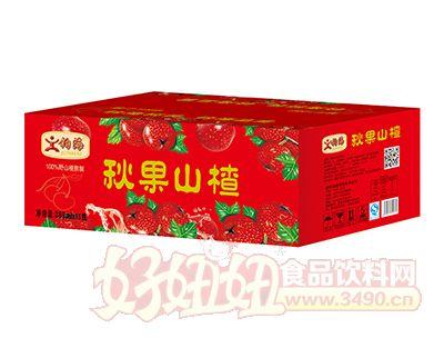 钧海秋果山楂汁饮料380ml×15瓶