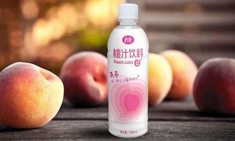 启色桃汁饮料