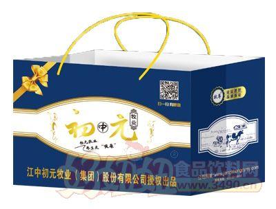 初元高钙牛奶250mlx12盒(手提)