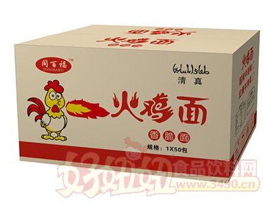 同百福火鸡面50包箱装