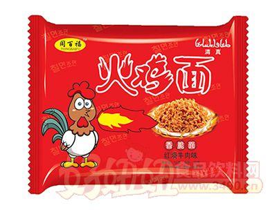 同百福红烧牛肉味火鸡面58g