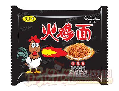 同百福超辣牛排味火鸡面58g