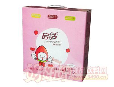 启活草莓味乳酸菌lehu国际app下载100ml×24瓶礼盒