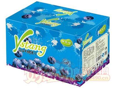 豫善堂果汁饮料蓝莓发酵果汁275mlx15瓶