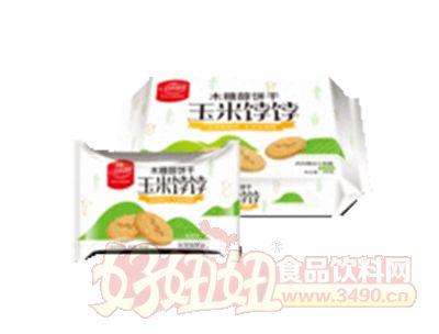 上海谷悦园香葱味玉米饽饽木糖醇饼干称重