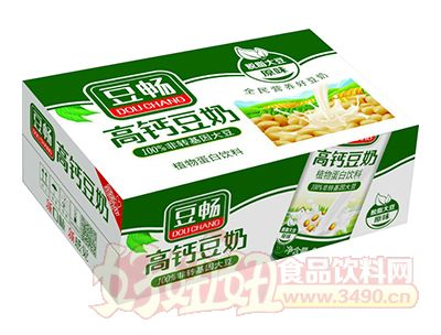 豆畅高钙豆奶箱装
